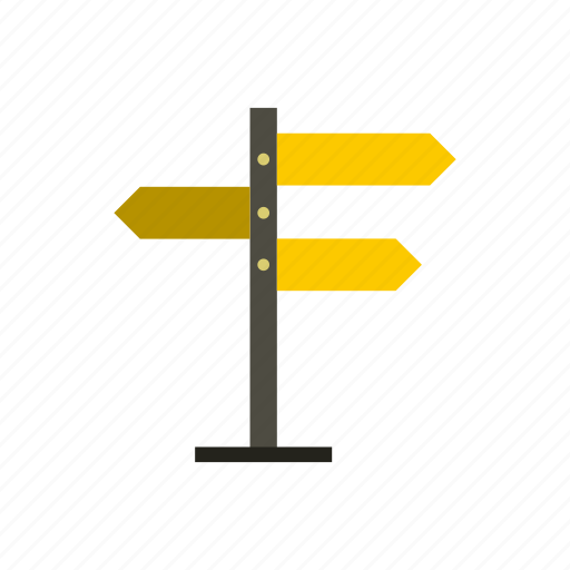 blank, direction, empty, information, road, street, way icon