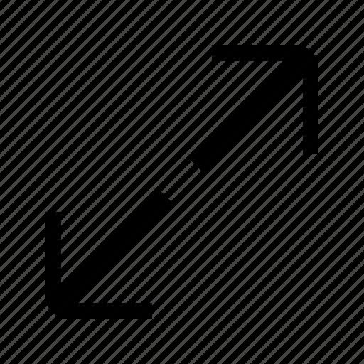 arrows, full, maximize, resize, screen, ui icon