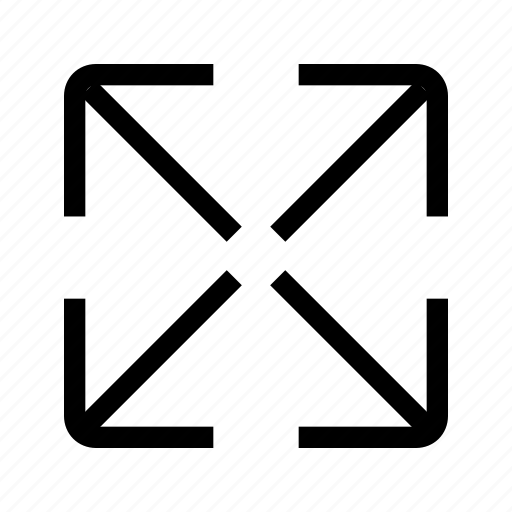 arrows, full, maximize, resize, ui, zoom icon