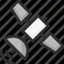 connection, location, navigation, satellite, sputnik icon