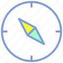 compass, destination, location, map, navigation icon