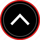 arrow, arrows, point, upload icon