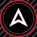 arrow, gps, up, upload