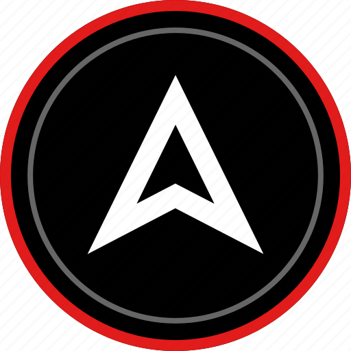 arrow, gps, up, upload icon