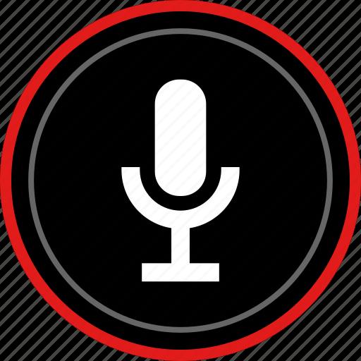 audio, listen, microphone, music icon