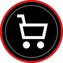 cart, navigation, shop, shopping icon