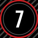 number, seven, ui, ux, 7