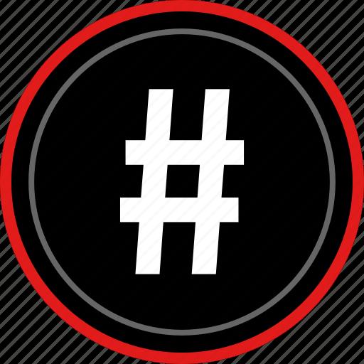 dial, hashtag, pound, sign, twitter icon