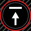 arrow, navigation, point, upload