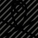 geolocation, location, marker, position icon