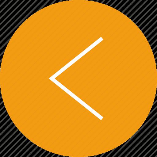 arrow, interface, left, nav, navigation, sign, ui icon