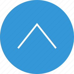 arrow, interface, nav, navigation, point, ui, up icon