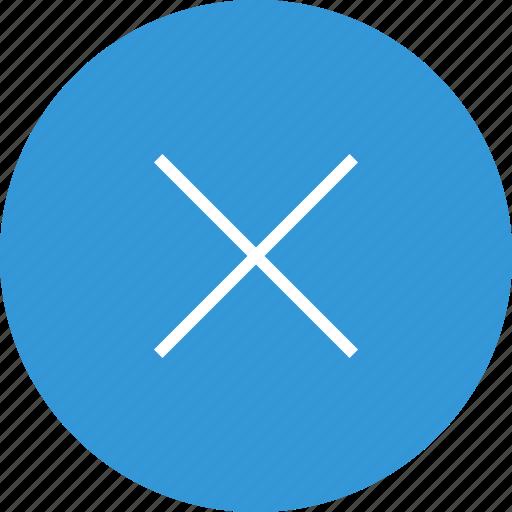 cross, delete, interface, nav, navigation, ui, x icon