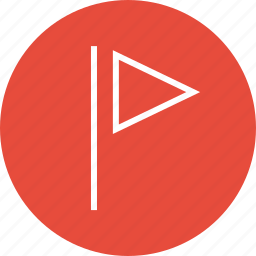 favorite, flag, interface, nav, navigation, sign, ui icon