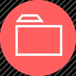 circle, documents, folder, guardar, menu, save icon