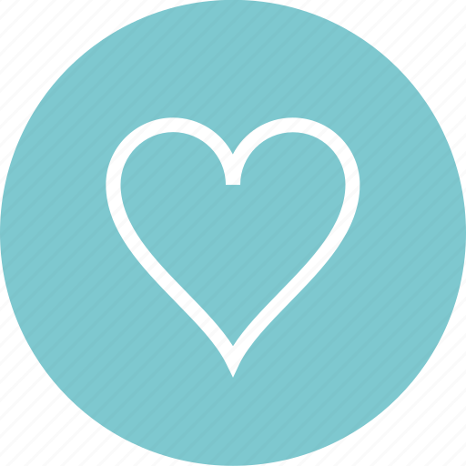 Circle, favorite, hear, love icon - Download on Iconfinder