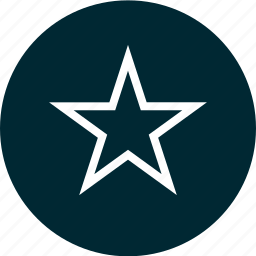 bookmark, burst, circle, special, star icon