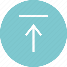 arrow, data, up, upload icon