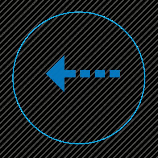 arrow, arrow previous, go back, left, navigation, navigation left, previous icon
