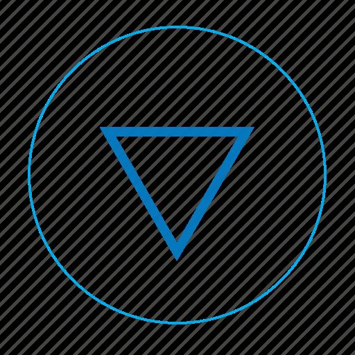 arrow, arrow bottom, arrow down, bottom, down, navigation bottom, navigation down icon