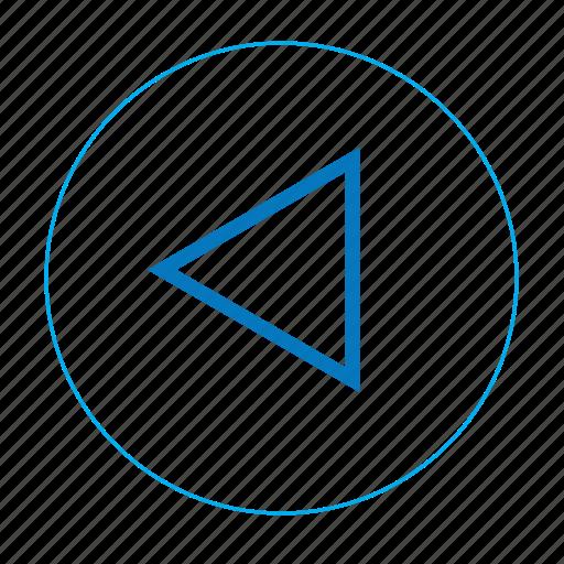 arrow, arrow left, back, left, navigation left, previous, previous page icon