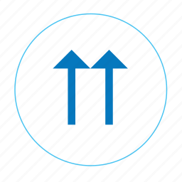 arrow, arrow up, go top, navigation top, top, two up arrow, up icon