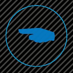 arrow, arrow left, hand, hand left, navigation, navigation left, point icon