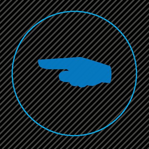 Arrow, arrow left, hand, hand left, navigation, navigation left, point icon - Download on Iconfinder