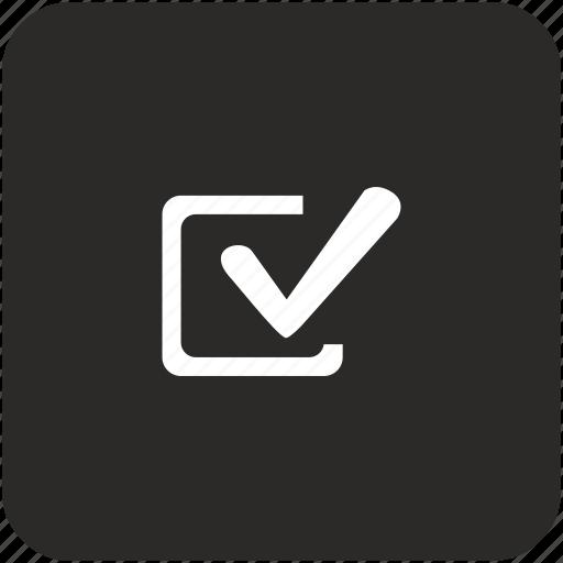 accept, agree, check, checkbox, confirm icon