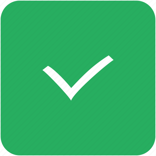 accept, check, checkmark, done, green icon