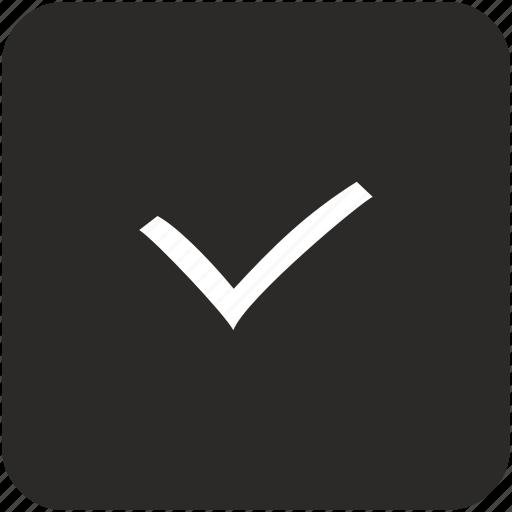 accept, check, checkmark, done icon