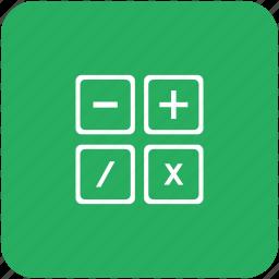 calc, calculator, count, instrument icon