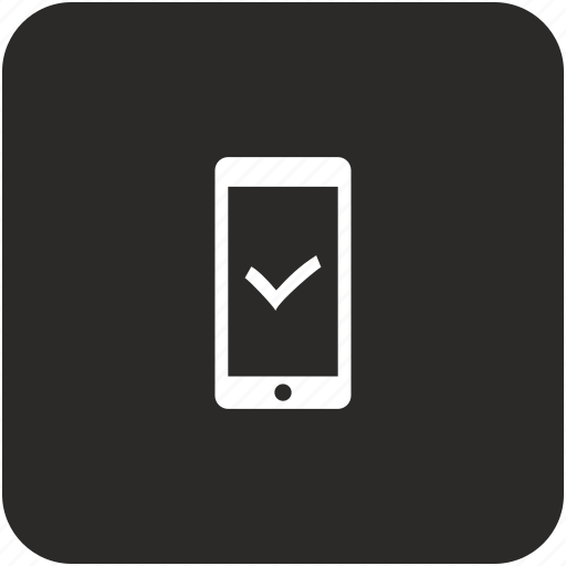accept, confirm, mobile, ok, phone icon