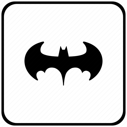 bat, batman, function, key, legend icon