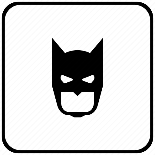 bat, batman, face, function, key, mask icon