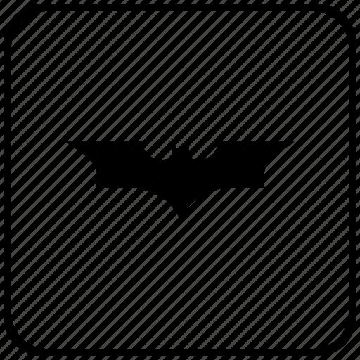 bat, batman, comics, function, key icon