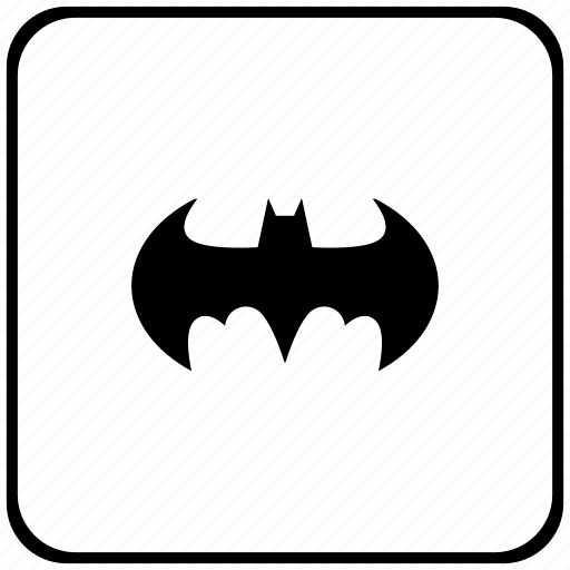 bat, batman, function, key icon