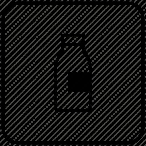 bottle, drink, function, key, milk icon