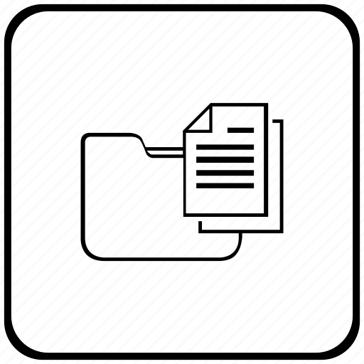 copy, document, folder, function, key icon