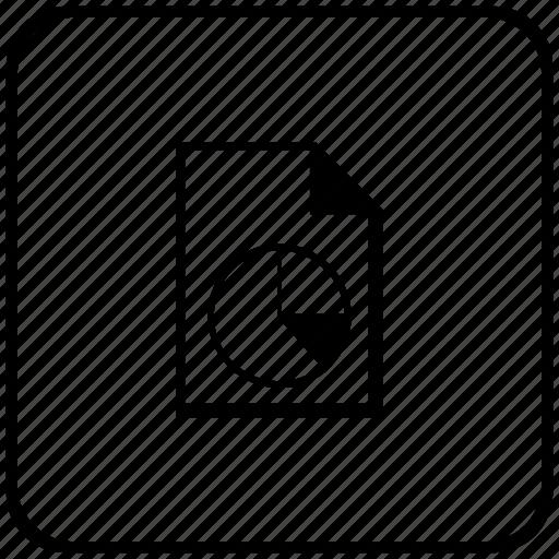 diagram, doc, document, file, function, key icon