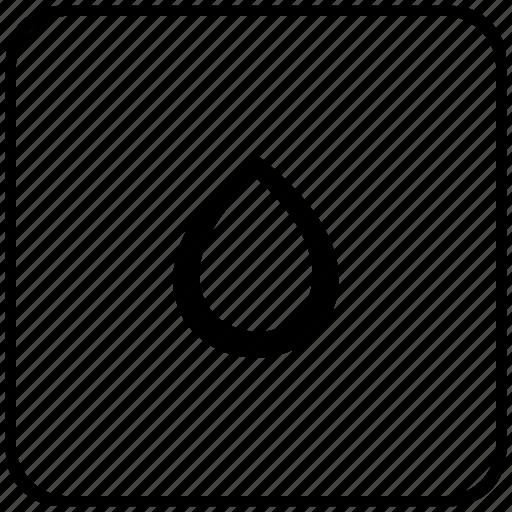 color, drop, function, ink, key, printer icon