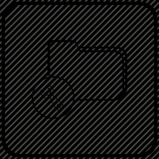 file, folder, function, instrument, key, tool icon