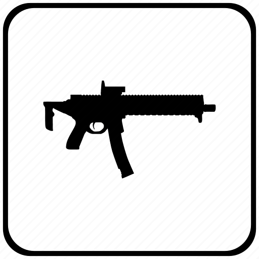 automatic, function, gun, key, sig, tactic, weapon icon