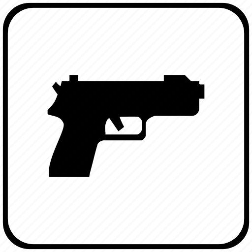 function, gun, key, safety, shooting, weapon icon