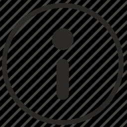 data, function, help, info, information, meta icon