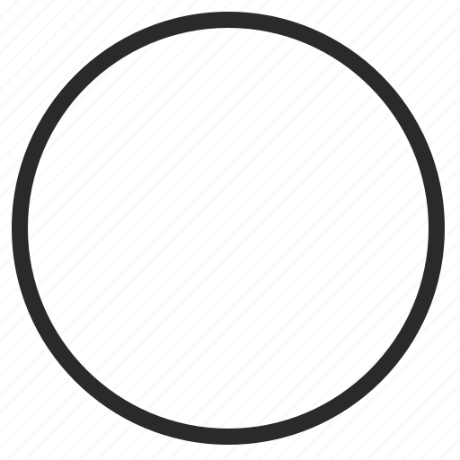 circle, empty, function, round icon