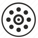dots, instrument, scanner, scanning, signal, tool icon