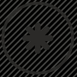 function, pass, password, round, star, ui icon