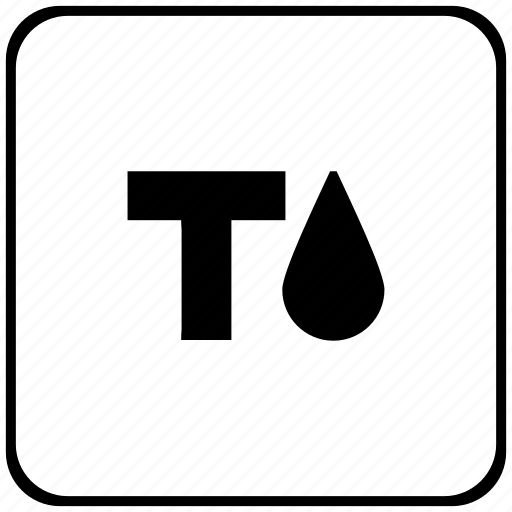 border, fill, format, ink, rounded, square, text icon