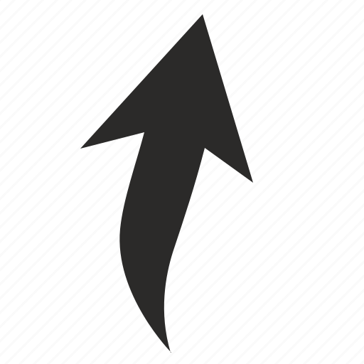 arrow, top, up, vertical icon